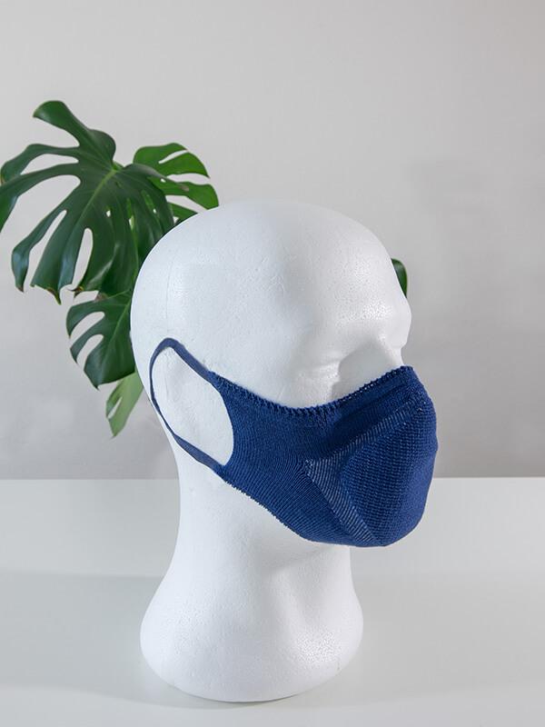 Maske Future Seamless Abendhimmelblau